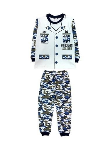 By Leyal For Kids Pijama Takım Lacivert